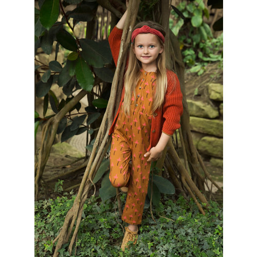 Ammehoela Ammehoela | Vest cardy Orange-Dust