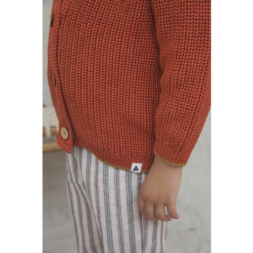 Ammehoela Ammehoela | Vest cardy Orange-Dust