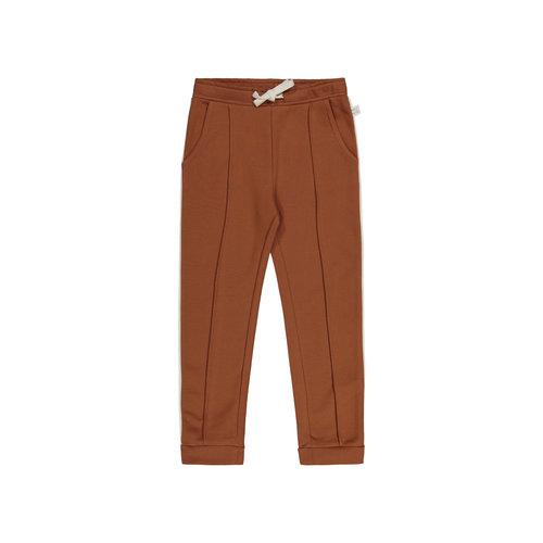 Mainio Mainio | Piping sweatpants | bruine joggingbroek