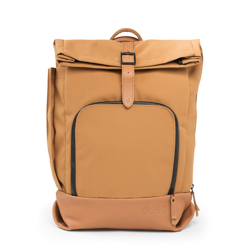 Dusq Dusq | Family bag | Canvas | Sunset cognac