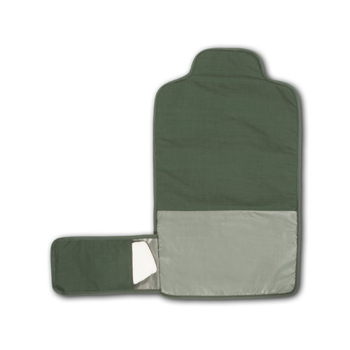 Dusq Dusq | Changing mat | Cotton blend | Marram green
