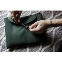 Dusq | Changing mat | Cotton blend | Marram green