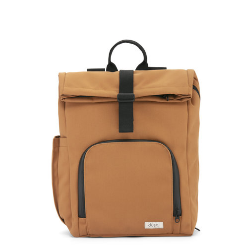 Dusq Dusq | Vegan bag | Canvas | Sunset cognac