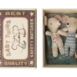 Maileg Maileg | Baby muisjes | Tweeling in doosje
