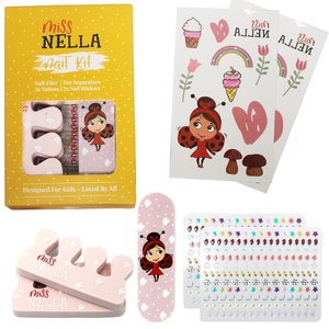 Miss Nella Miss Nella | Nail kit voor kinderen