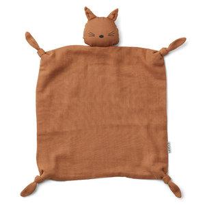 Liewood Liewood | Agnete knuffeldoek | Cat terracotta