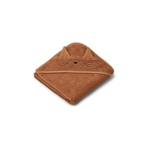 Liewood Liewood | Albert Hooded Towel | Cat terracotta Badcape