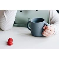 Liewood | Gene silicone cup | Drinkbeker Rabbit Blue