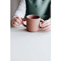 Liewood | Gene silicone cup | Drinkbeker Cat dark rose