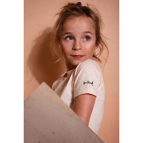 Be Kind Be Kind   Be natural   Shirt met kraagje