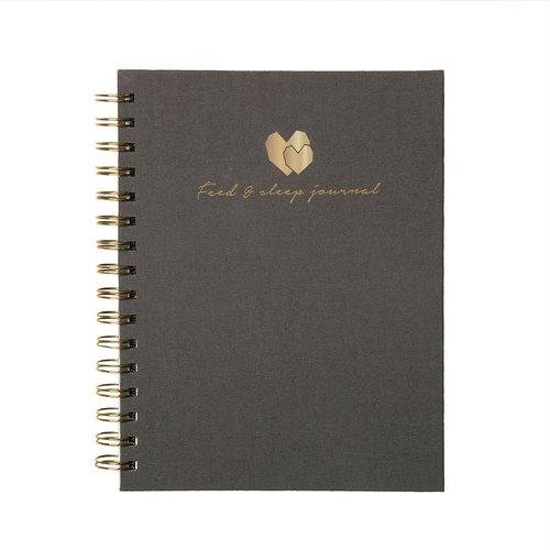 House of Products Baby food & sleep journal   Eet & slaap ritme boekje