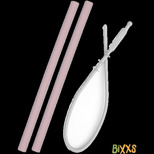 MinikOiOi Flexibele rietjes van duurzaam siliconen