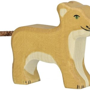 Holztiger Holztiger | Leeuw, welp staand