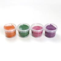 Neogrün   Vegan klei Loki   Oranje, groen, roze, paars