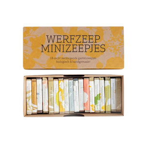 Werfzeep Werfzeep | Set van 18 minizeepjes
