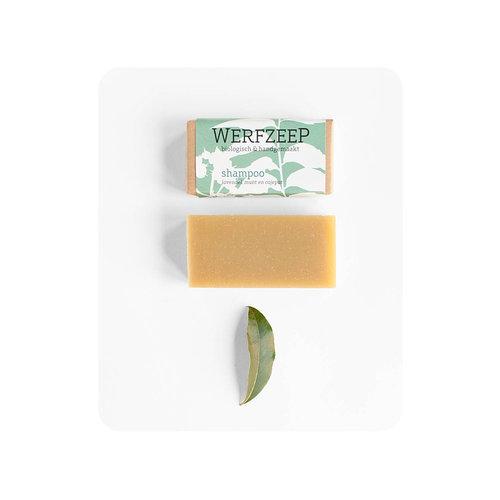 Werfzeep Werfzeep | Shampoobar honing, munt 100gr