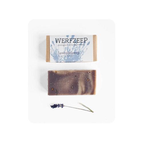 Werfzeep Werfzeep | Lavendelzeep 100gr