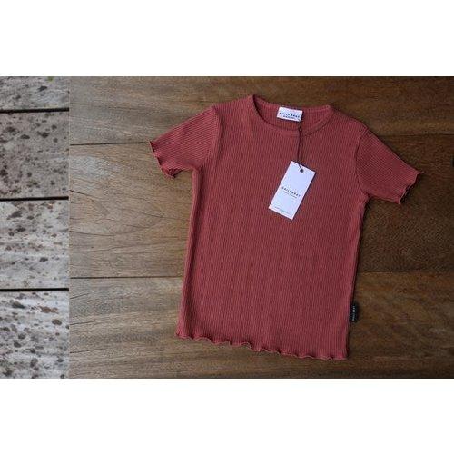 Daily Brat Daily Brat | Rosie t-shirt | Marsala
