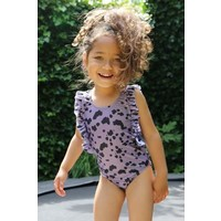 Daily Brat | Dolly swimsuit UPF50+| Dusty purple