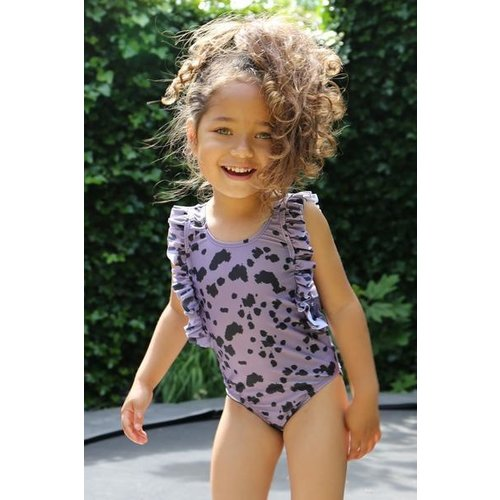 Daily Brat Daily Brat | Dolly swimsuit UPF50+| Dusty purple