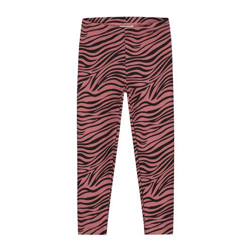 Daily Brat Daily Brat | Zebra pants | Marsala
