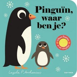 Boeken Pinguin, waar ben je? Flapjesboek