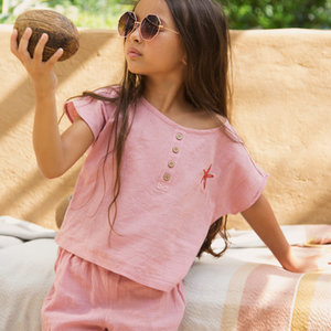 Ammehoela Ammehoela | AM.June.01 | roze shirtje