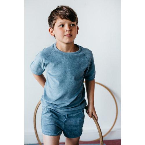 Mingo kids Mingo | Retro shorts Stone