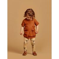 Mainio | Slub pocket t-shirt | Bombay brown