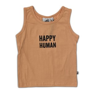Cos i said so Cos i said so | Happy Human tanktop | Peach