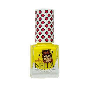 Miss Nella Miss Nella | Nagellak 'Sun Kissed' | Geel