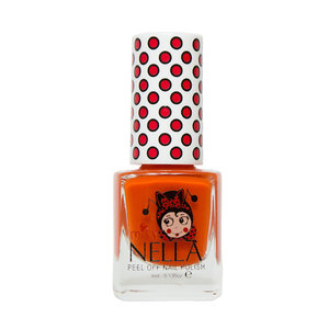 Miss Nella Miss Nella | Nagellak 'Poppy Fields' | Rood-oranje