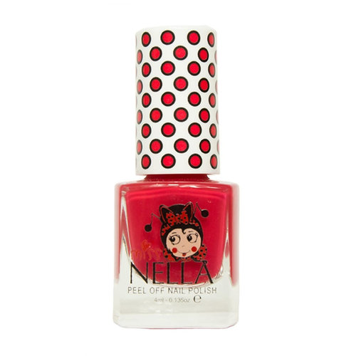 Miss Nella Miss Nella | Nagellak 'Strawberry 'n Cream' | Roodroze