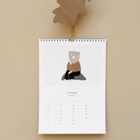 Ted & Tone | Verjaardags kalender A5