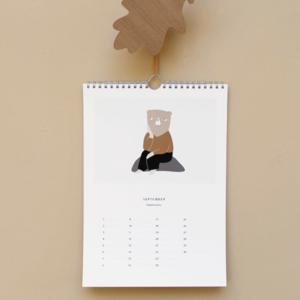 Ted & Tone Ted & Tone | Verjaardags kalender A5