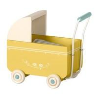 Maileg   Retro kinderwagen   Geel