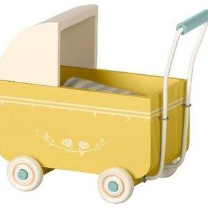 Maileg Maileg | Retro kinderwagen | Geel