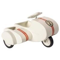 Maileg   Motor met zijspan   Wit