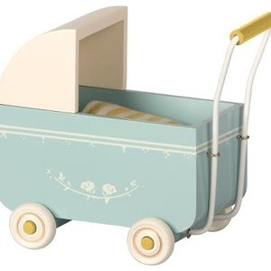 Maileg Maileg | Retro kinderwagen |Blauw