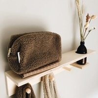 Studio Noos | Chunky Teddy Pouch | Brown
