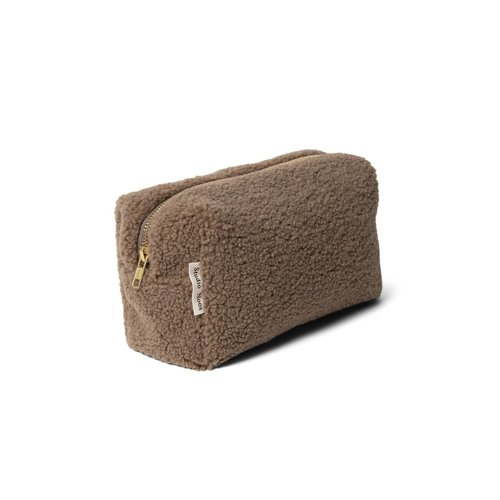 Studio Noos Studio Noos | Chunky Teddy Pouch | Brown
