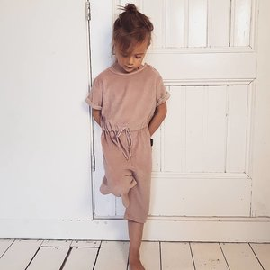 Daily Brat Daily Brat | Molly towel jumpsuit | Dusty lilac