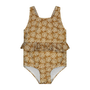 Daily Brat Daily Brat | Abby swimsuit SPF50+ | Painted flower