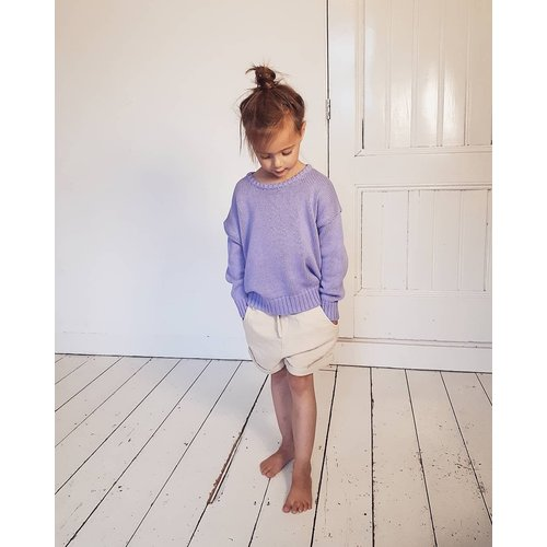 Daily Brat Daily Brat | Austin oversized knitted sweater | Lilac