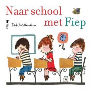 Boeken Naar school met Fiep kartonboekje