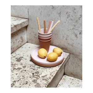 Liewood Liewood | Gertrud Bamboo cups Rose mix | 6 pack bamboe bekers