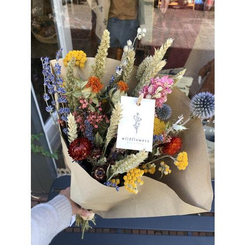 Overig Wild Flowers   Droogbloemen Veldboeket L   Multi