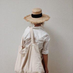 Studio Noos Studio Noos | Old white rib mom-bag