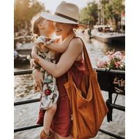 Studio Noos | Orange rib mom-bag