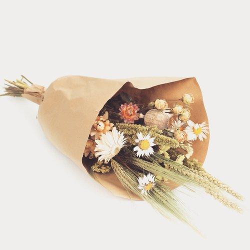 Overig Wild Flowers | Droogbloemen Veldboeket M | Naturel